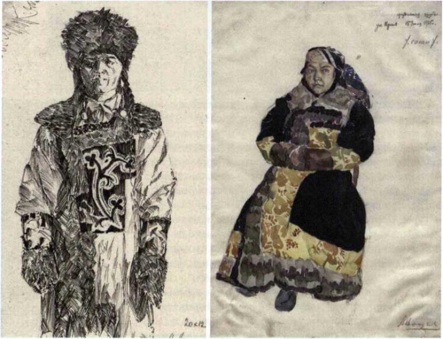 История изучения хакасских женских шуб - М. П. Чебодаева