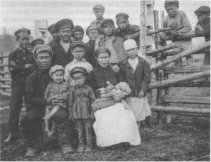 Абинская общность - Локальные группы предков шорцев в конце XIX - начале XX вв.