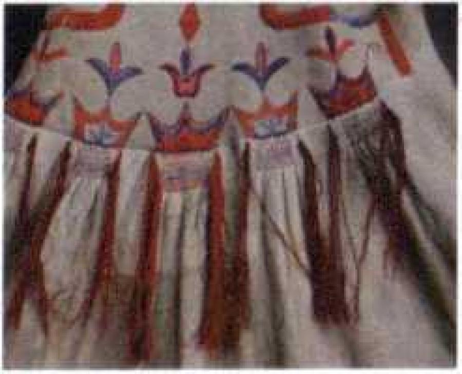 Орнаментальные мотивы в вышивке на женских шубах - М. П. Чебодаева