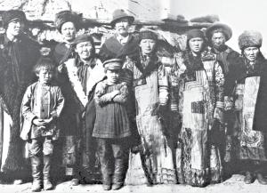 Происхождение хакасских родов и фамилий
